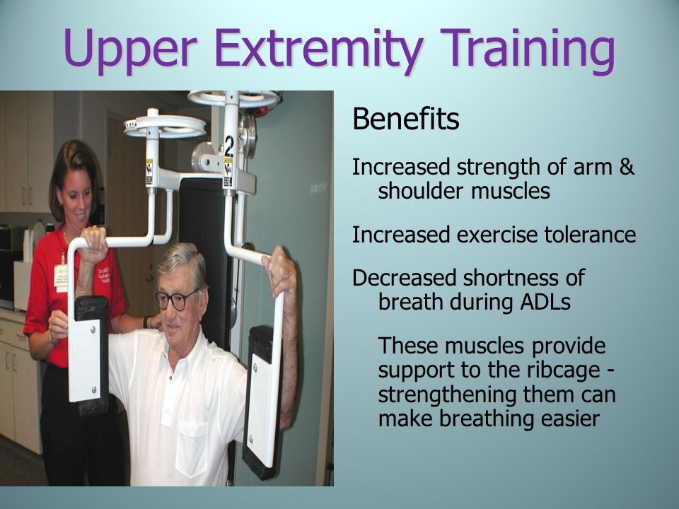 Upper Extremity Training