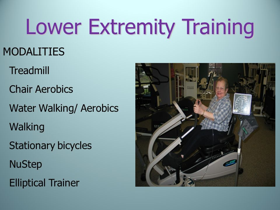 Lower Extremity Training