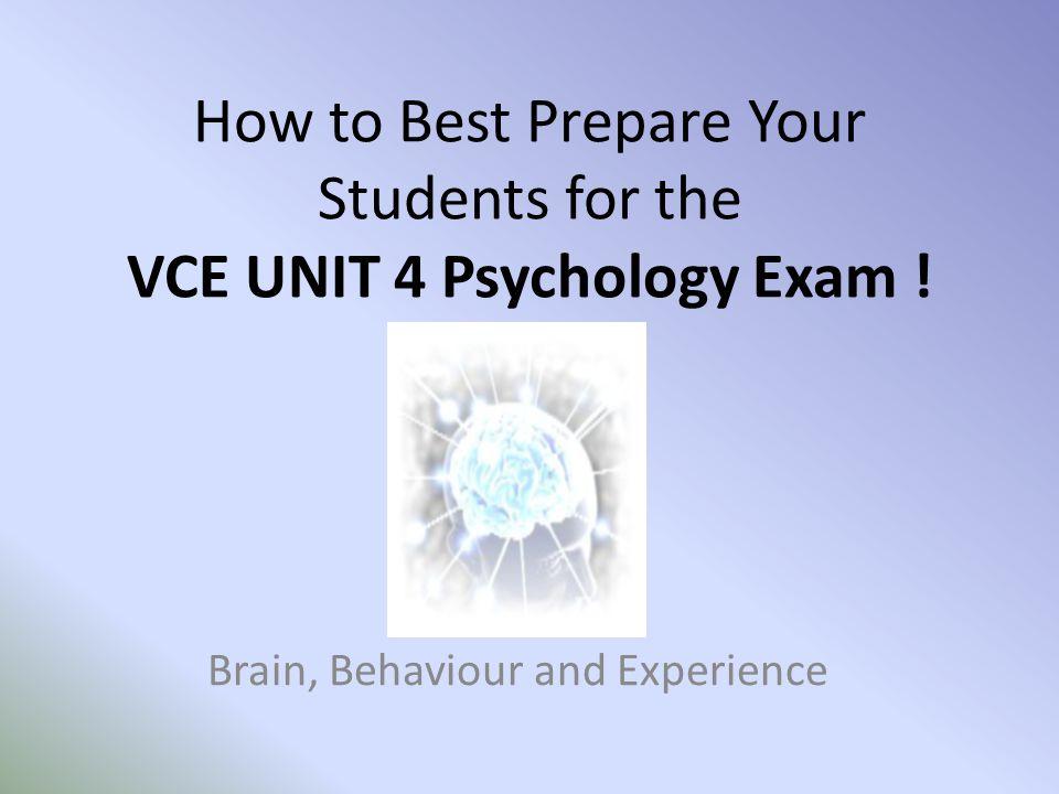 vce unit 1 and 2 psychology pdf