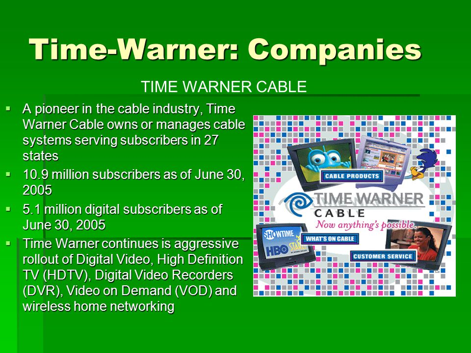time warner case study