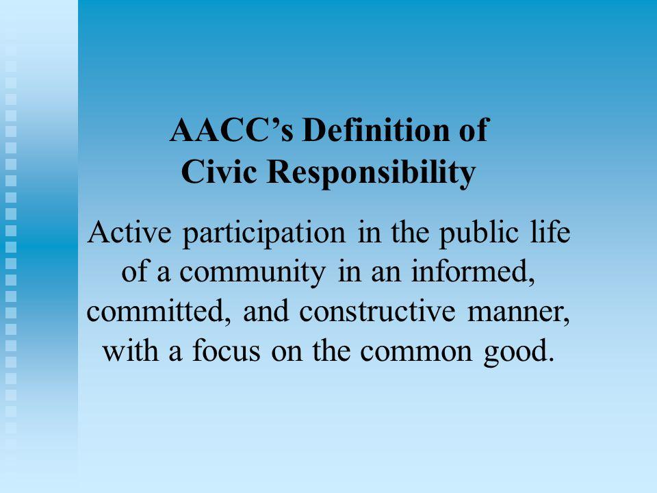Civic responsibility essay