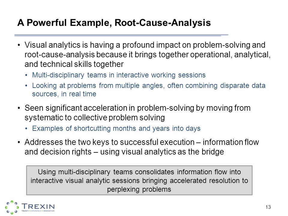analytical problem solving examples