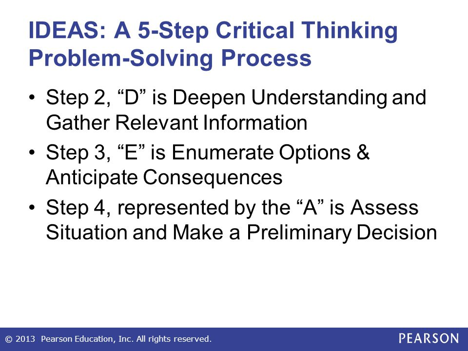 individual portfolio problem solving situation A problem with problem solving: teaching thinking without teaching knowledge the existence of a problem implies that the individual is confronted by something he.