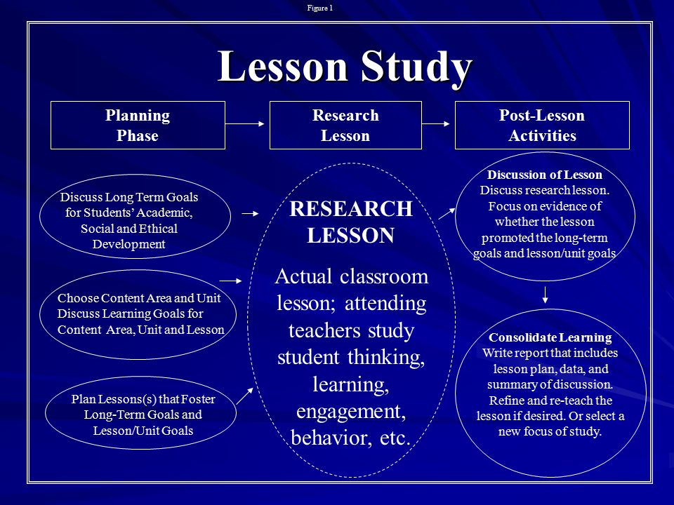 Plan Lessons(s) that Foster Long-Term Goals and Lesson/Unit Goals