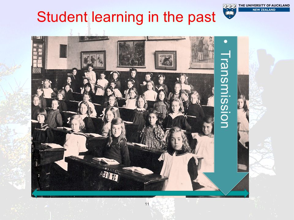Student learning in the past