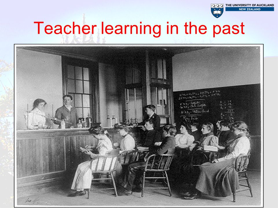 Teacher learning in the past
