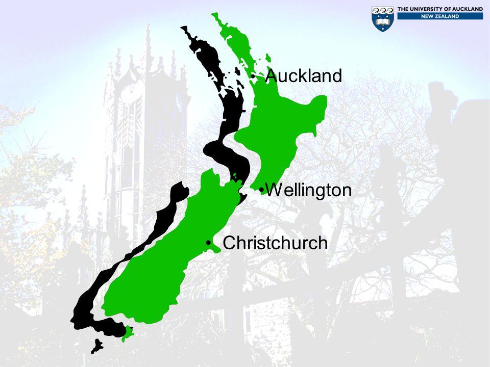 Auckland Wellington Christchurch