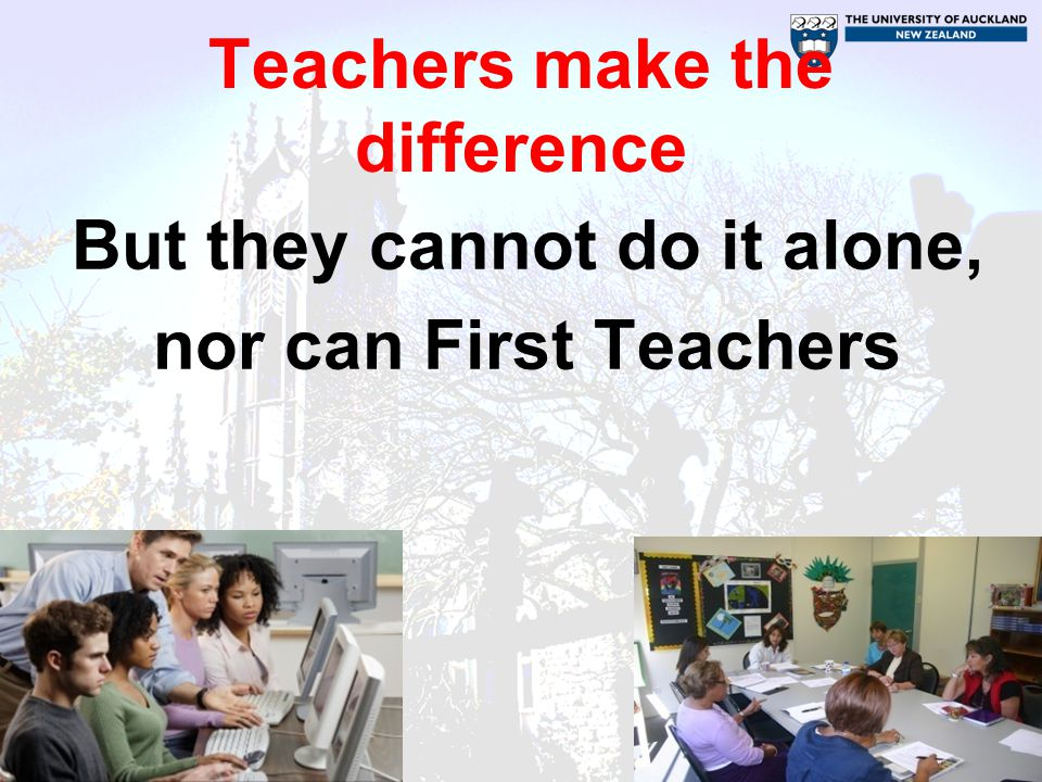 Teachers make the difference