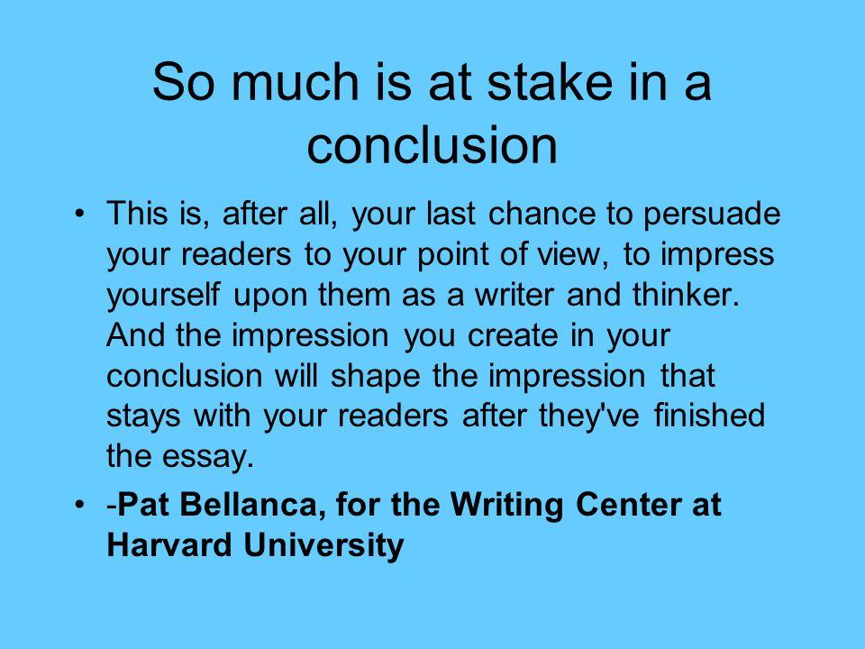 essay conclusions help