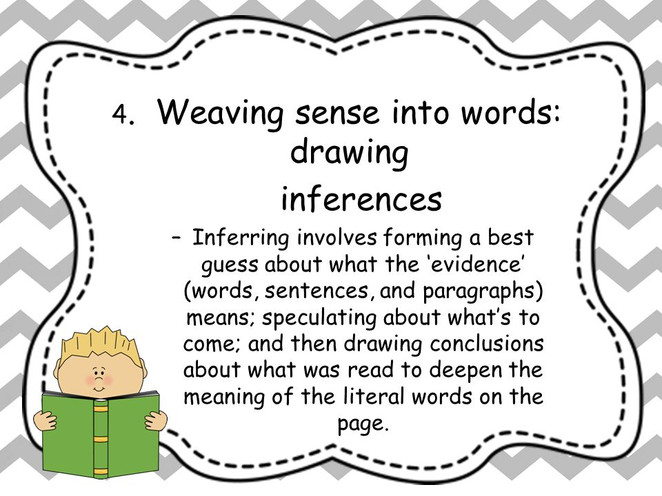 4. Weaving sense into words: drawing