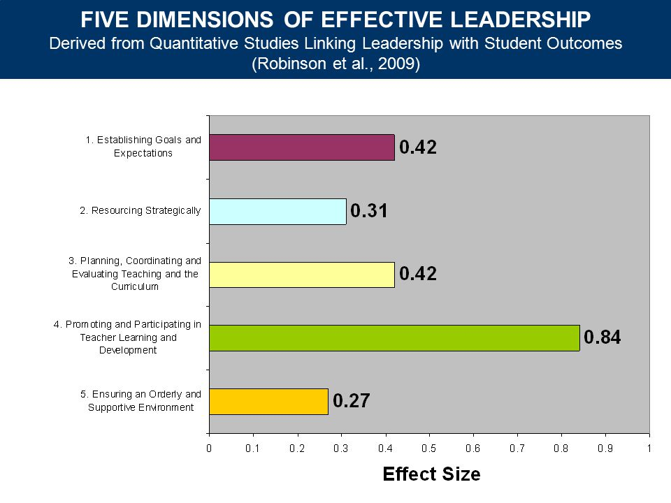 FIVE DIMENSIONS OF EFFECTIVE LEADERSHIP