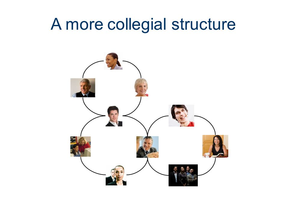 A more collegial structure