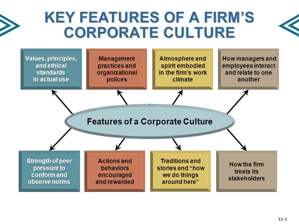 culture and corporate climate In this lesson, you will learn what organizational culture is and how it dictates behavior in organizations you'll also explore the seven values.