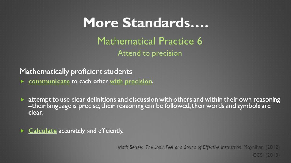 Number Talks: Strengthen Students\' Mathematical Reasoning - ppt ...