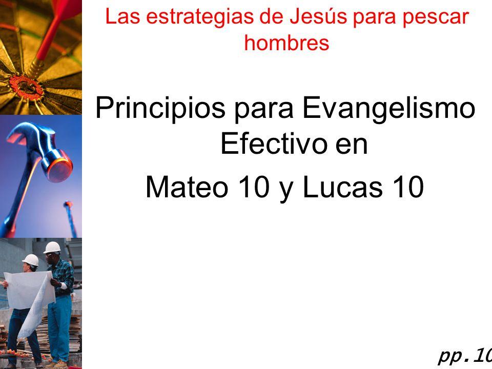 Principios para Evangelismo Efectivo en Mateo 10 y Lucas 10