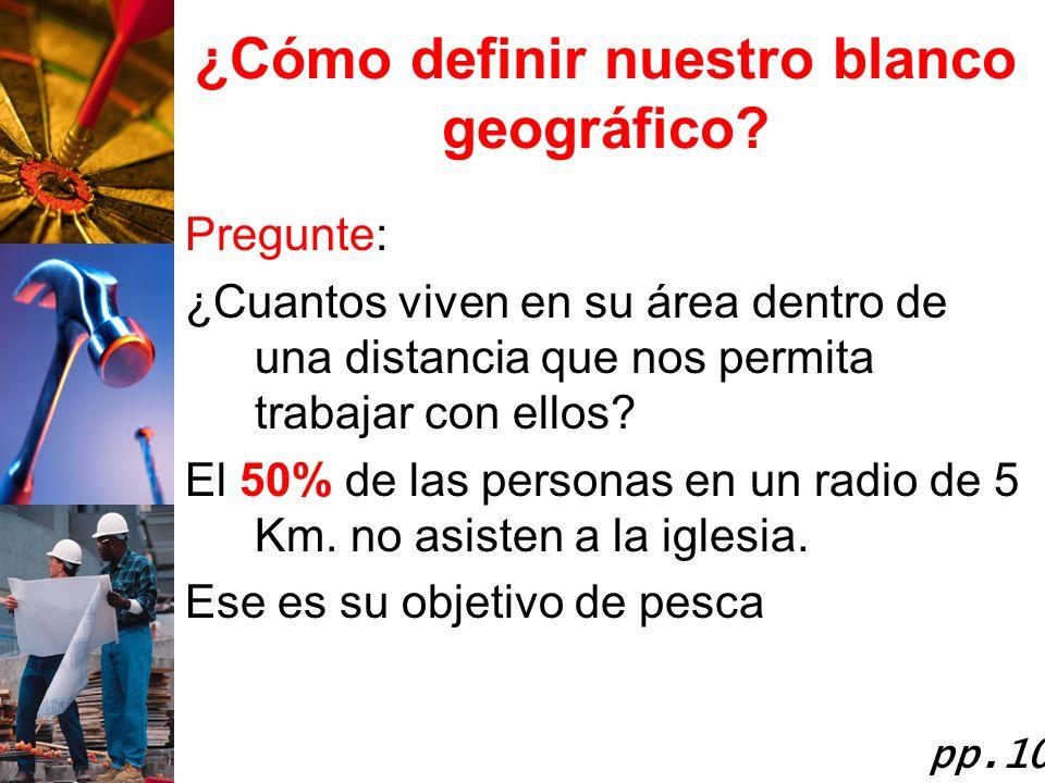 ¿Cómo definir nuestro blanco geográfico