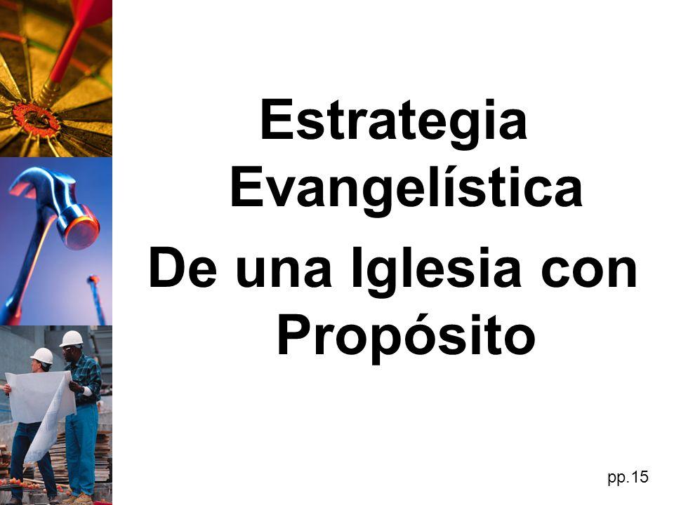 Estrategia Evangelística De una Iglesia con Propósito