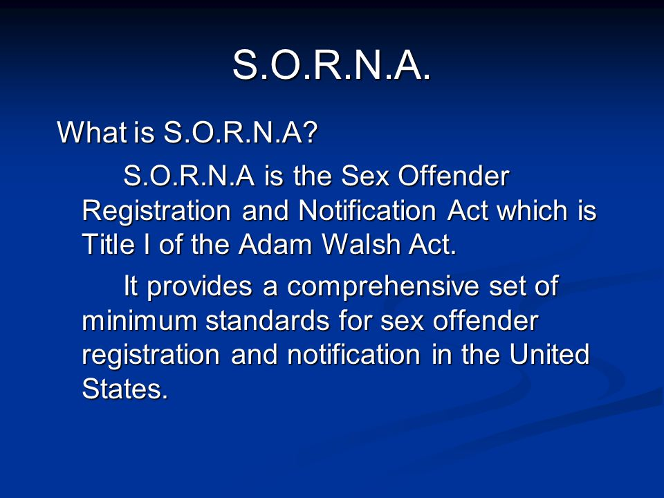 sex offender registration notification act montana