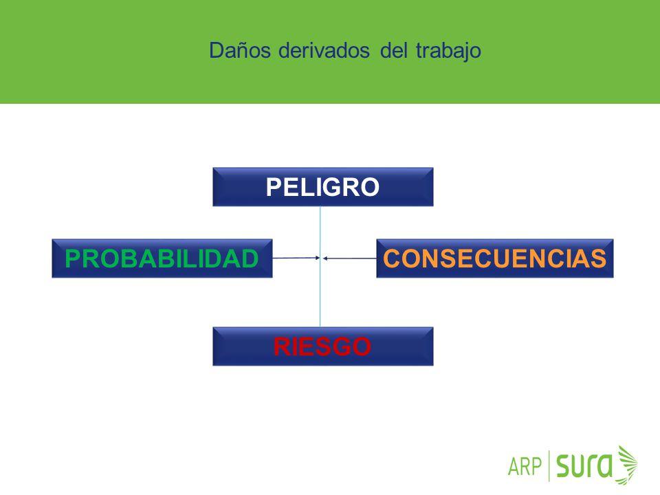 PELIGRO PROBABILIDAD CONSECUENCIAS RIESGO