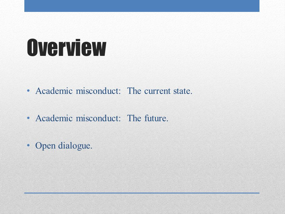 ncaa division i academic hot topics ppt video online  overview academic misconduct the current state