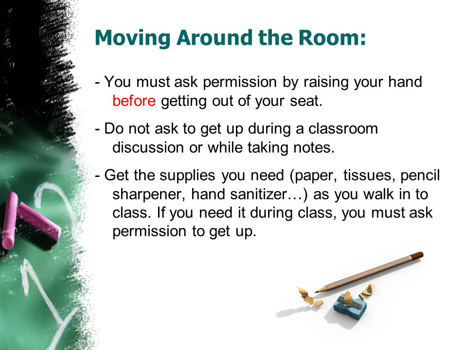 Moving Around the Room: