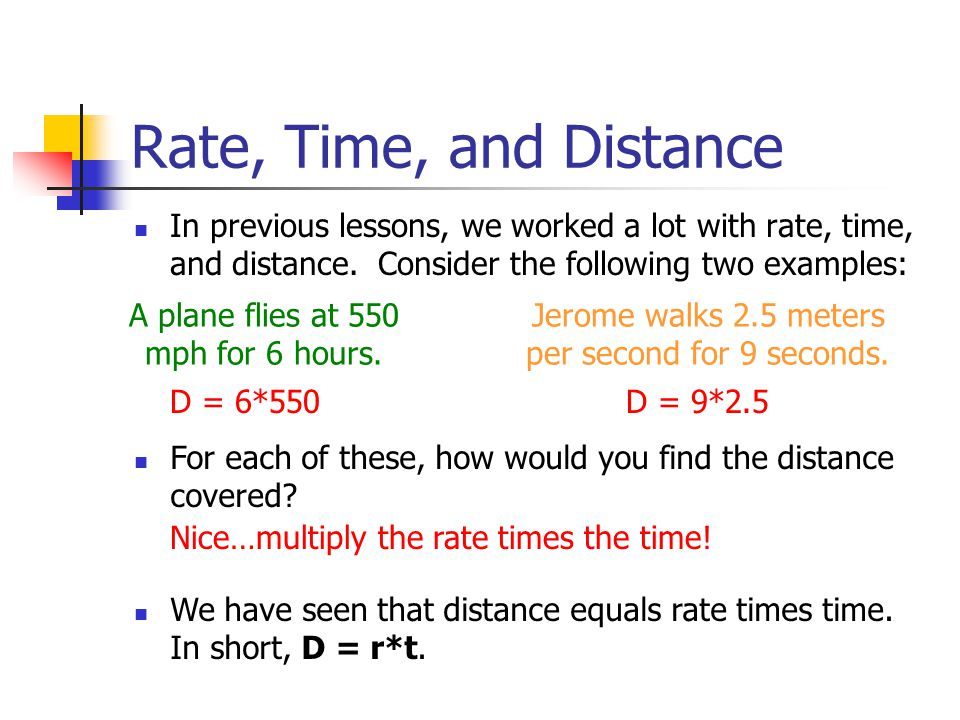 Time Worksheets distance rate time worksheets : Classic Math Problems with Distance, Rate, and Time - ppt download
