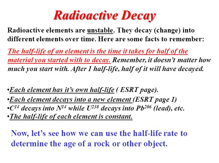 radioactive decay now let s see how we can use the half. Black Bedroom Furniture Sets. Home Design Ideas