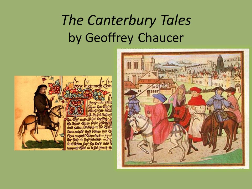 the lives of the black people in chaucers the canterbury tales Chaucer's wife of bath known pilgrim in chaucer's canterbury tales is to the black death this enormous loss of life only exacerbated the.
