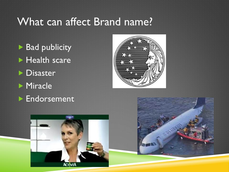 What can affect Brand name