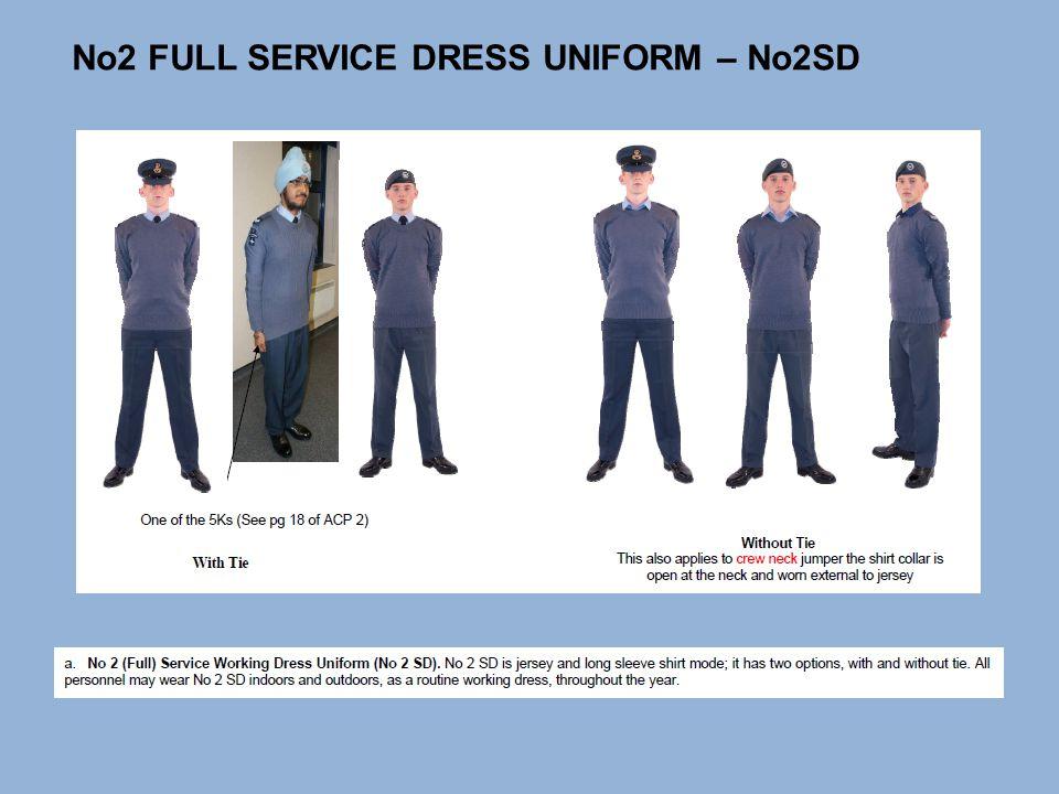 No 2 service dress white