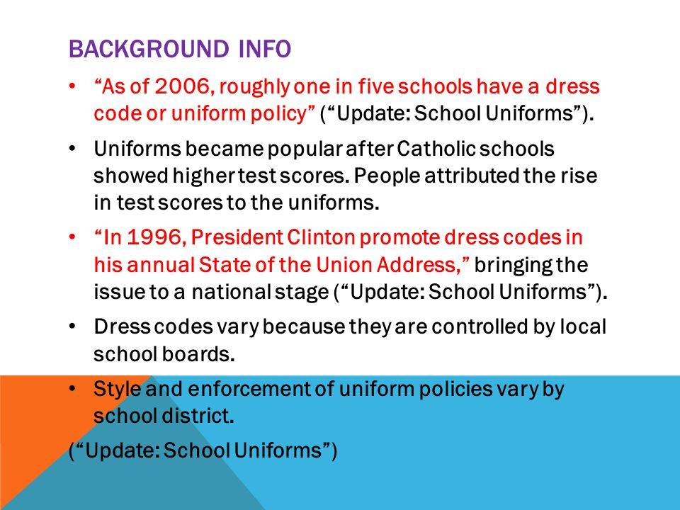 high school uniforms essay Introduction school uniforms  the effects of uniforms on students behaviors education essay  while attending a public high school i've seen.