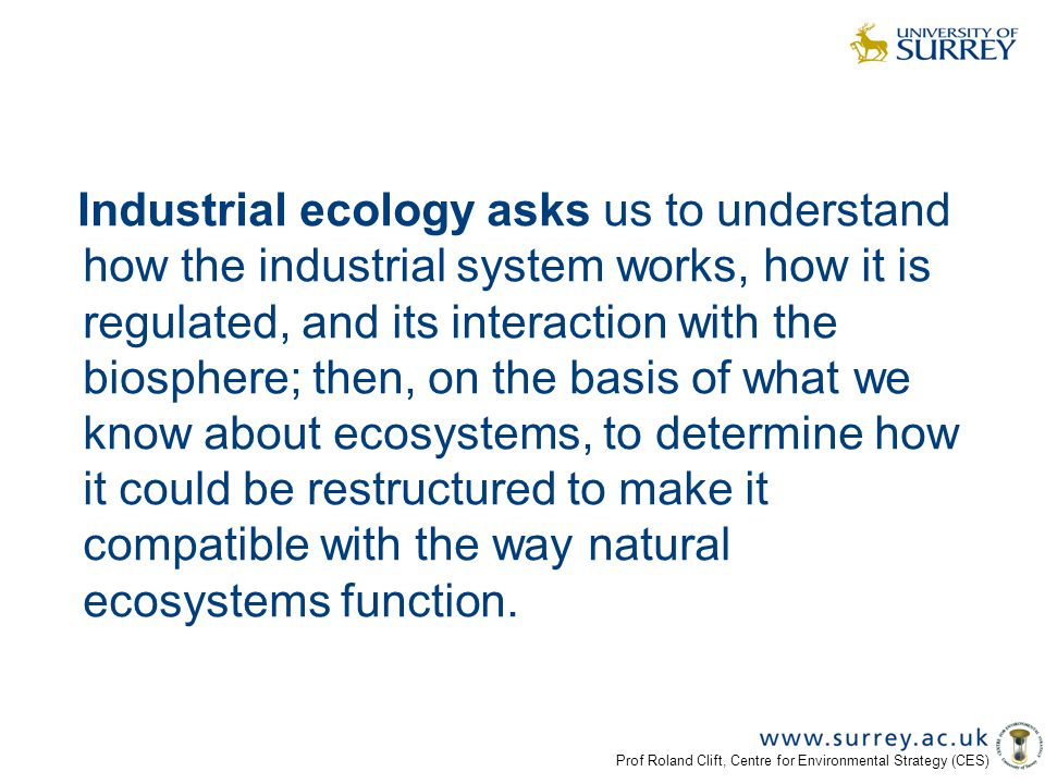 industrial ecology and sustainable engineering pdf