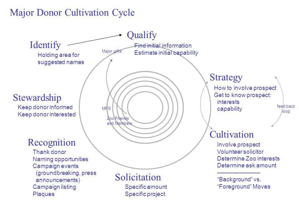 Major Donor Cultivation Cycle
