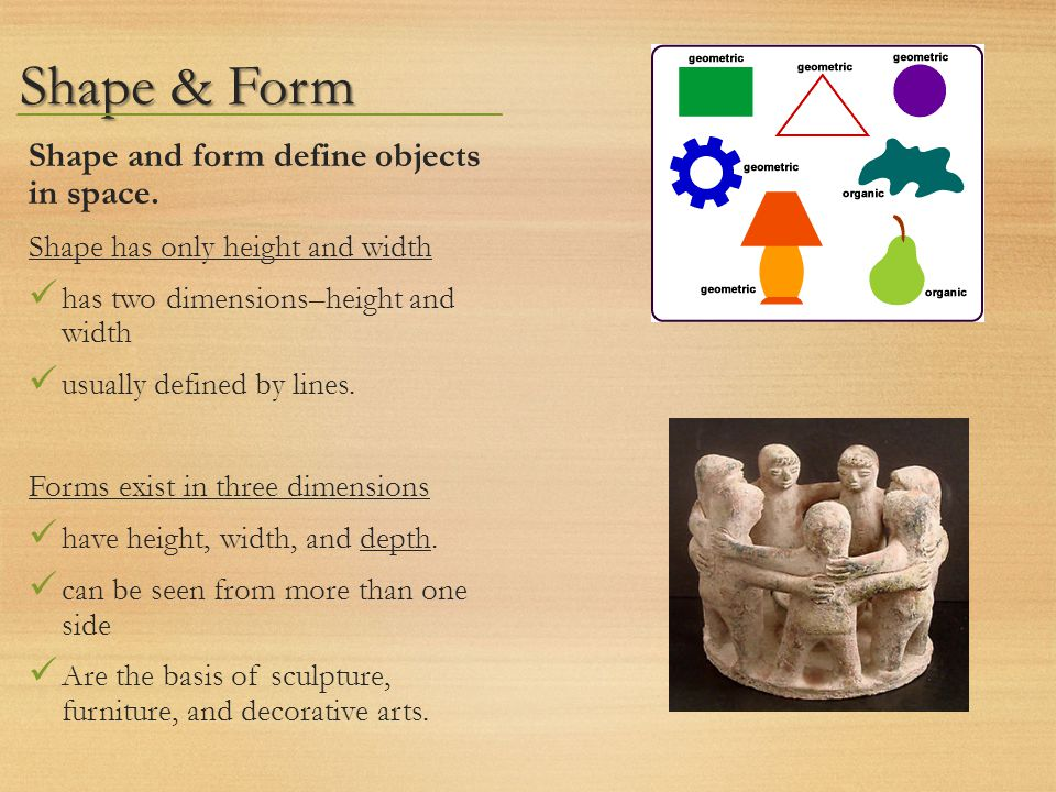 Shape Form And Space In Art : Clay sculptures ppt video online download