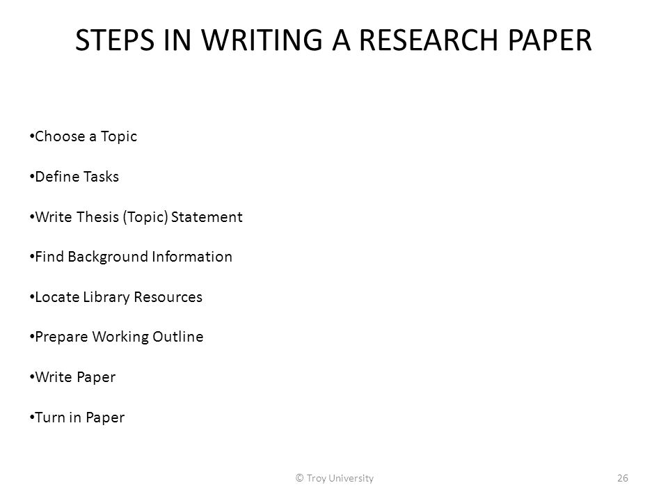 steps to writing a research paper high school The auburn high school research paper met to write a research paper manual for the entire school think the source will be useful in writing your paper 8.