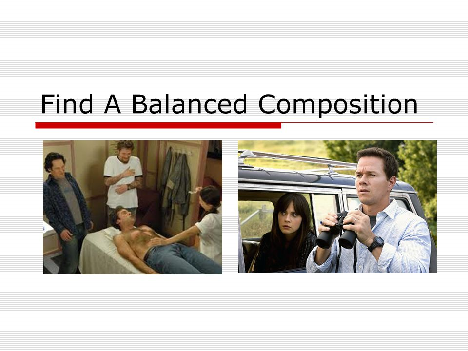 Find A Balanced Composition