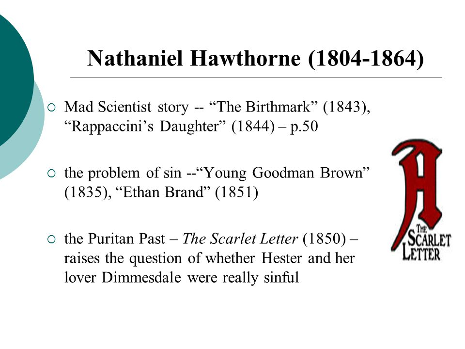 the question of good and evil in young goodman brown by nathaniel hawthorne Home → sparknotes → short story study guides → young goodman brown young goodman brown nathaniel hawthorne table of contents.