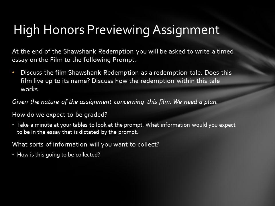 shawshank redemption writer