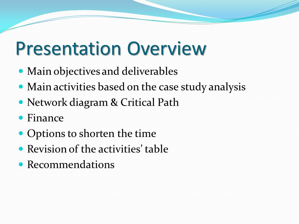 Professional case study writing ppt