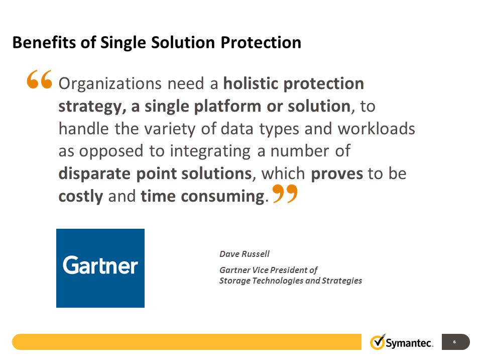 Benefits of Single Solution Protection