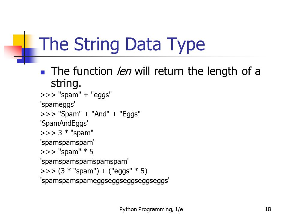 how to return a string in python