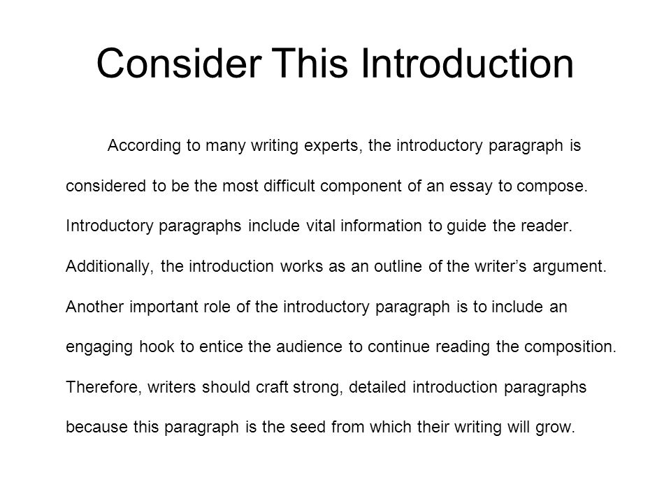 an introduction to the creative essay on the topic of having a hand A rhetorical analysis essay is a form of writing where the author looks at the topic in make sure to have excellent rhetorical analysis essay example on hand.