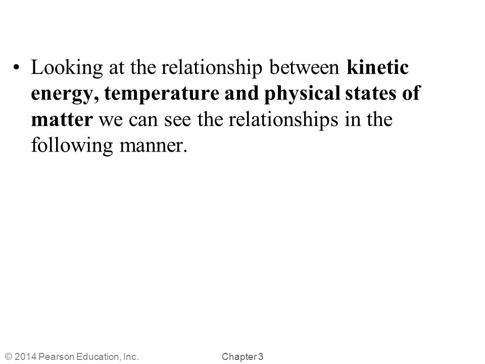 relationship between kinetic energy and states of matter powerpoint