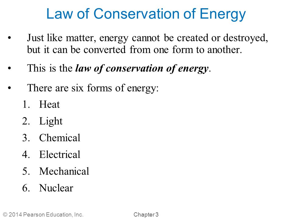 Chapter 3 Matter and Energy by Christopher G. Hamaker ...