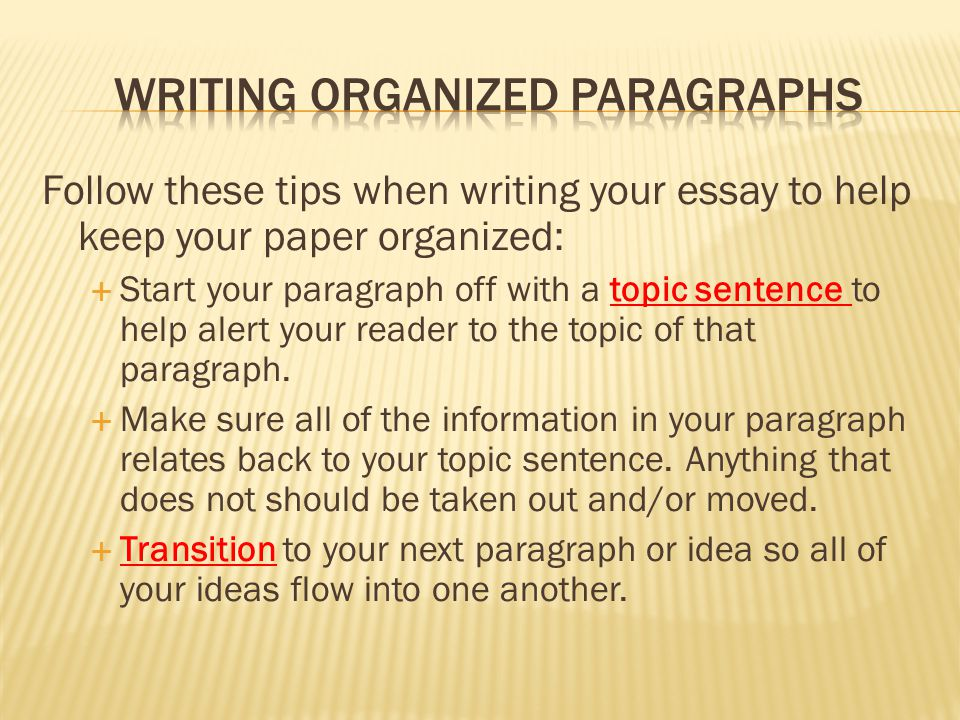 Tips writing introductory paragraph essay
