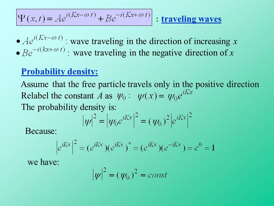 : traveling waves wave traveling in the direction of increasing x. wave traveling in the negative direction of x.