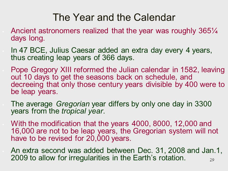 julian year astronomy