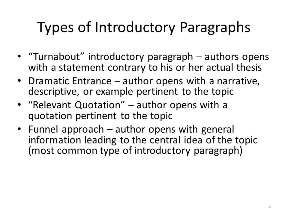-a group of paragraphs that develops a central idea