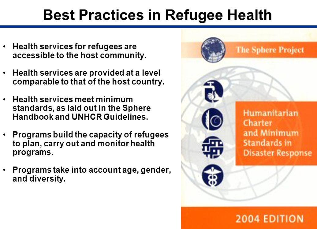 Best Practices in Refugee Health