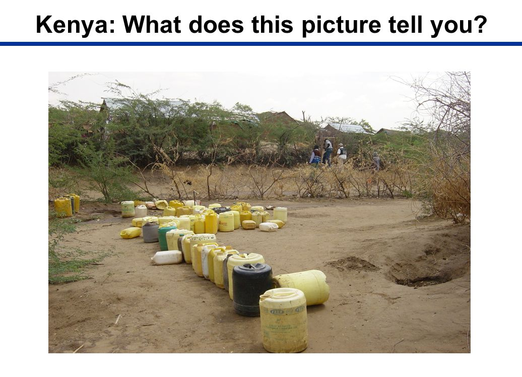 Kenya: What does this picture tell you